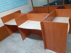Office workstation tables 100 nos available