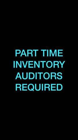 Part Time Inventory Auditors: Chindwara