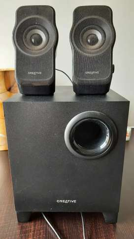 2.1 Creative speakers with woofer