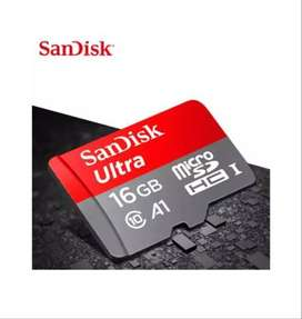Sandisk Micro SD TF Ultra Memory Card 16GB including Adapter