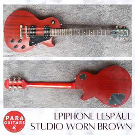 Epiphone lespaul studio worn brown