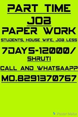 At home based job writing
