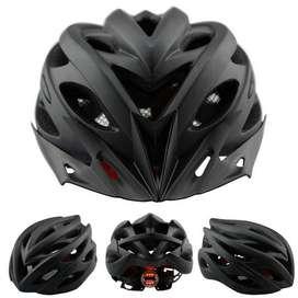 TaffSPORT Helm Sepeda EPS PVC Shell dengan Lampu Backlight - 1105