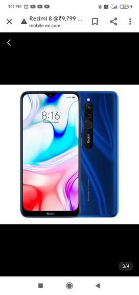 Redmi 8  2 mnth old