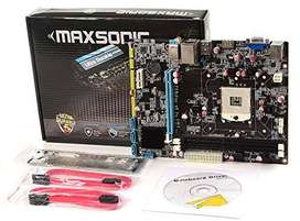 new motherboard g41 maxsonic with 1yr warranty rs 2250
