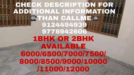 1BHK OR 2BHK((6000 To 13000)) AVAILABLE NEAR PALASUNI TO CHINTAMANISOR