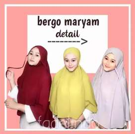 Hijab Instan Bergo Maryam Diamond