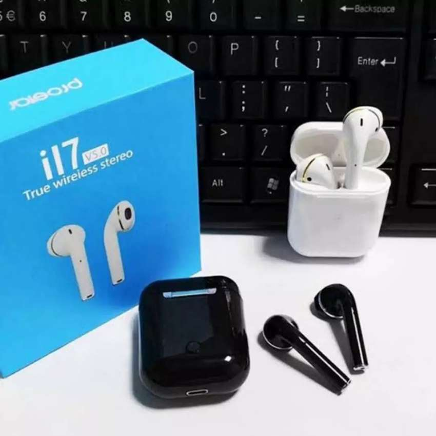 i17 TWS Wireless Earphone Bluetooth 5.0 Touch Control Automatic Pop Up 0