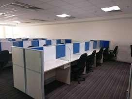 Luxury 25 seater cabin furnished office at tukoganj
