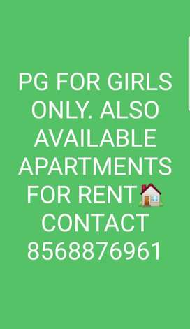PG FOR GIRLS ONLY ALSO AVAILABLE HOME FOR RENT