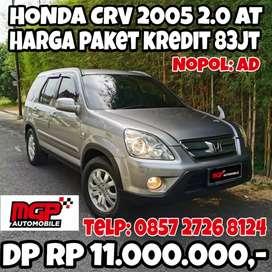 Honda CRV 2.0 Matic Nopol AD Abu Abu Kayak Baru No PR DP Rendah