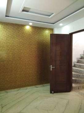 3bhk corner floor in sector 24 rohini