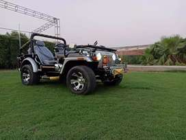 Very Attractive Modified Willy Jeep For Election Compaigning