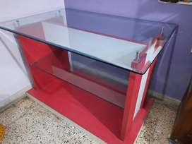 Glass Counter Table