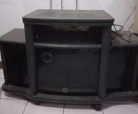 Meja TV rack dan Audio rack