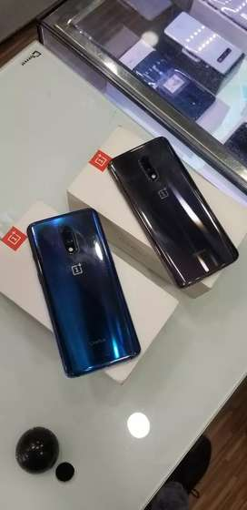 One Plus 7 blue And Grey..