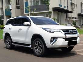 Toyota Fortuner VRZ 2016 Akhir Putih Jual Cash