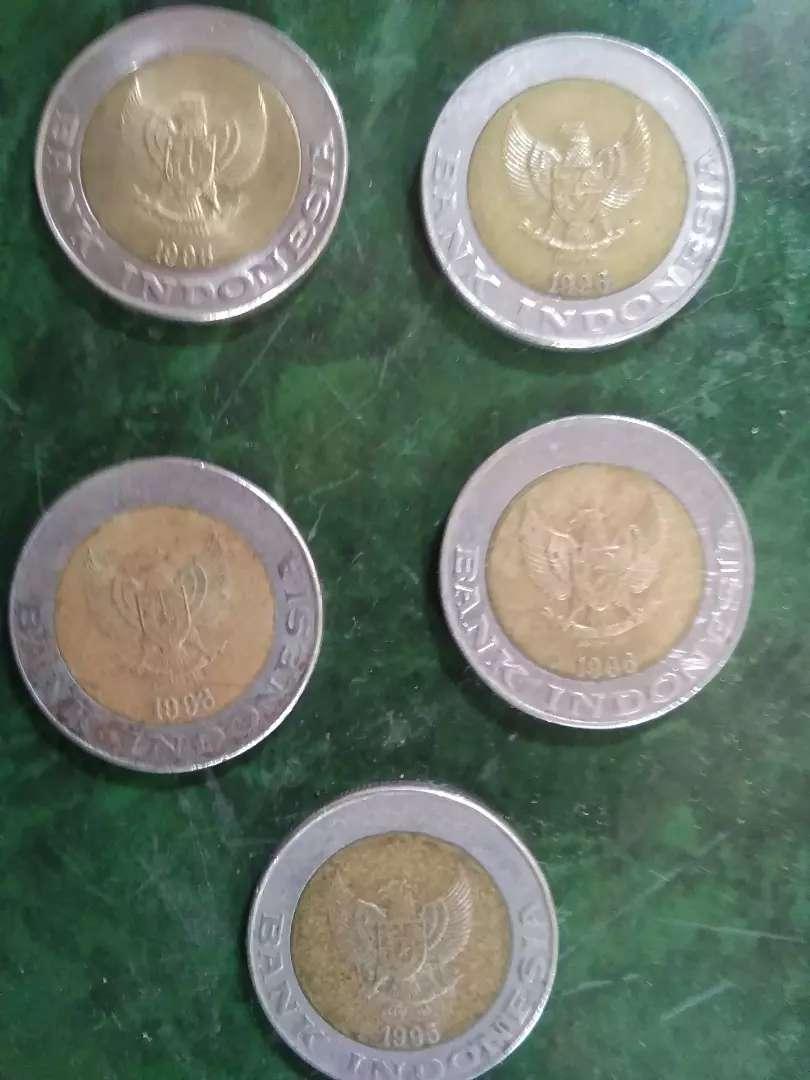 Uang koin kuno kelapa sawit 5 pcs 3 jt nego 0