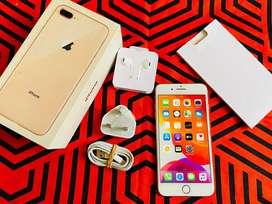 Iphone 8 plus 64 gb fullset bisa tt