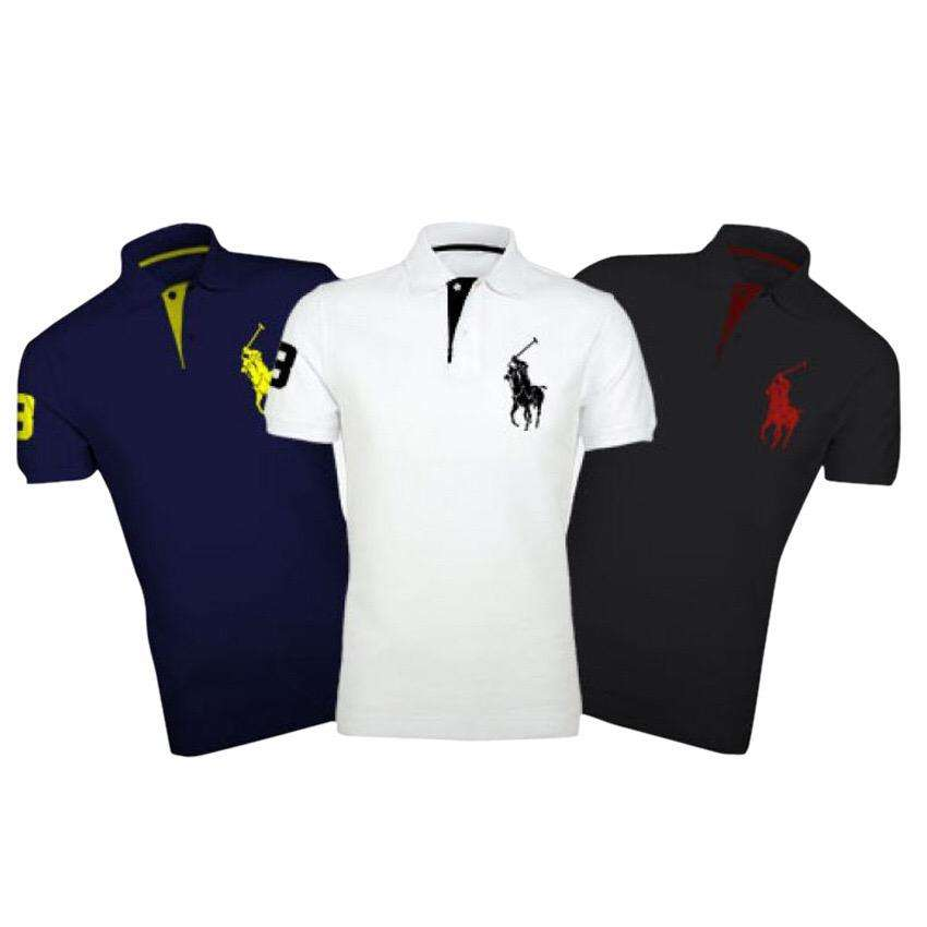 Polo T-shirt pack of 3 0