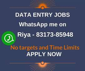 Part time jobs for students, housewifes and others. Simple typing jobs
