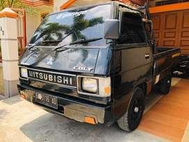 L300 pick up tahun 1997 Bak Sudah datar dan di lapis