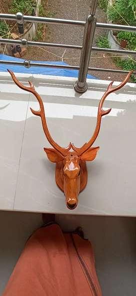 Deer Head Wooden