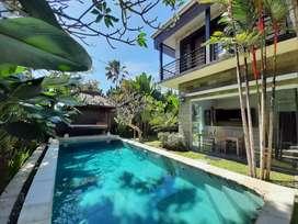 Rent 3 Bedrooms Villa in Canggu, Beautiful Garden
