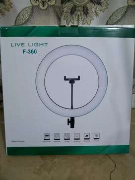 Ring Light 36 cm along with 7 ft stand