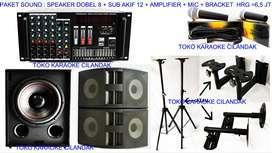 paket sound system untuk senam