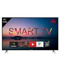 "Cornea 55"" 4K LED TV with warranty of  1 year with metal body"