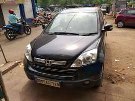 Honda CRV black with CNG fitted