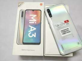 Sealed cut Redmi Mi A3 4gb 64gb white colour with warranty