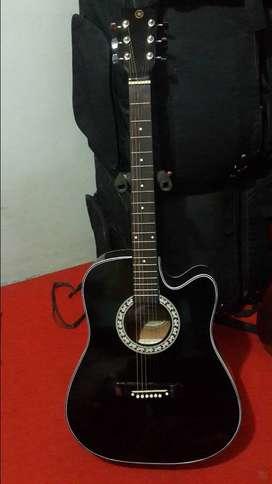 Gitar jumbo 300rb akustik mantap