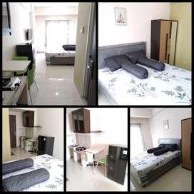 DISEWAKAN CEPAT Apartemen Sunter Park View studio uk 22m2 furnish