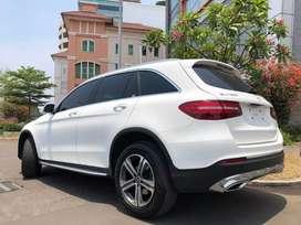 GLC 200 Exclusive 2018 Nik18 White On Black Km10rb Bagasi PBD ISP3Thn