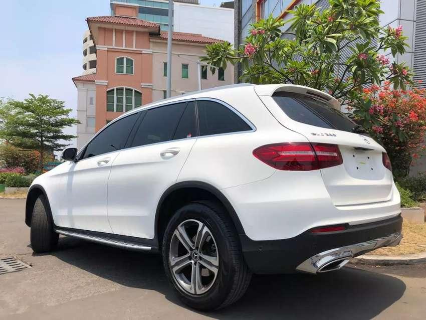 GLC 200 Exclusive 2018 Nik18 White On Black Km10rb Bagasi PBD ISP3Thn 0