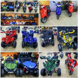 Full verity of ATV QUAD BIKE Scooty in battery and Fuel 4 sell