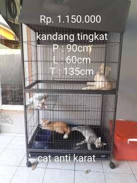 Dijual kandang kucing tingkat