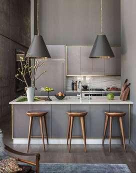 kitchen set murah BONUS KOMPOR