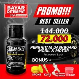 pakai BLC PERMANENT BLACK! untuk HITAMKAN lg WARNA DASHBOARD yg PUDAR!