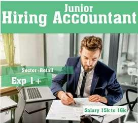 Hiring Accountant