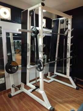 Health club setup complete Commercial  gym Equipment photo.