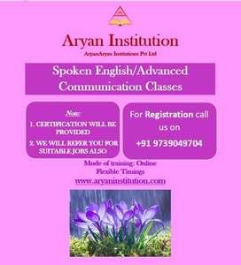 Spoken English/Advanced Communication Classes