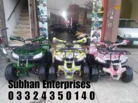 125cc Shekari Jeep Atv Quad 4 Wheels Bike Deliver In All Over The Pak