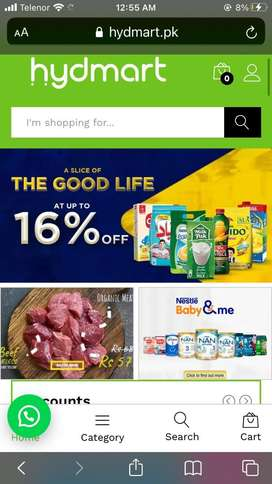 Hyderababd leading Ecommerce website for sale
