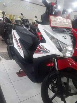 Honda beat esp iss thn 2015,plat nomor baru