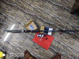 FISHING ROD 8 FEET WITH 5000 SERIES MOTOR