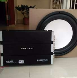Paket Audio Power Embassy + Subwoofer Embassy