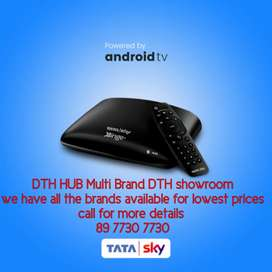 Rs.1490 and onemonth free Sundirect new connection,All brand available